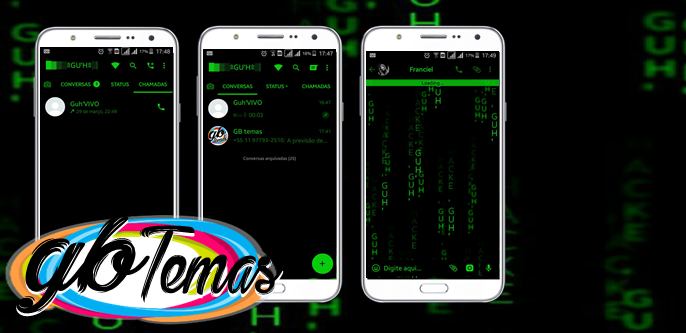 Tema GBWhatsapp - Hacker Mam (EXCLUSIVO)