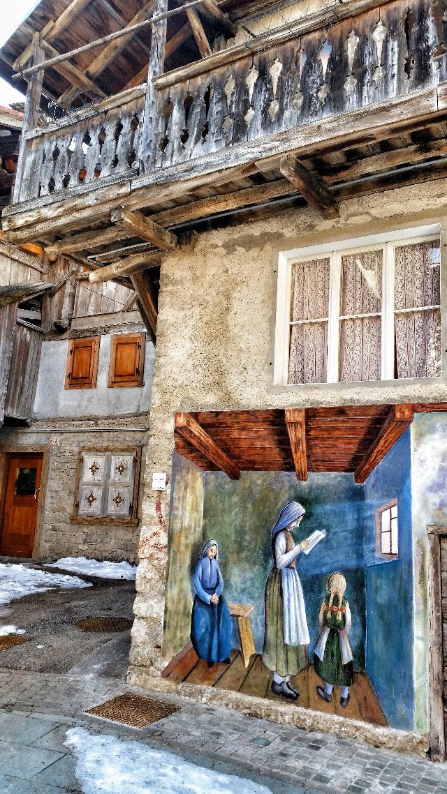 murales cibiana