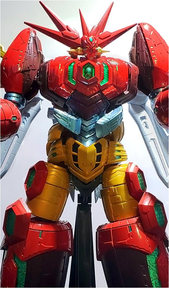 2009。超合金魂GX-87蓋特皇帝