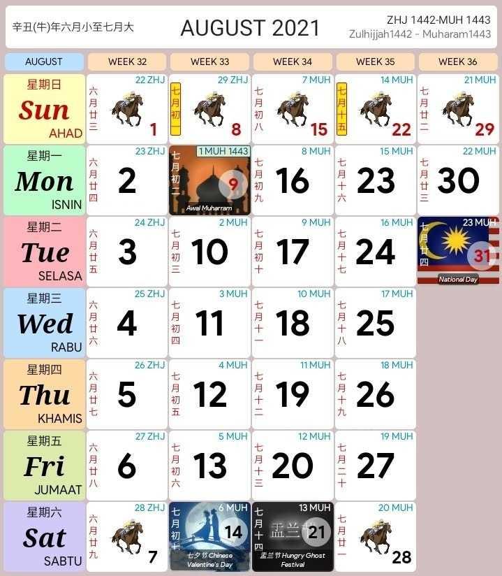 Bulan August