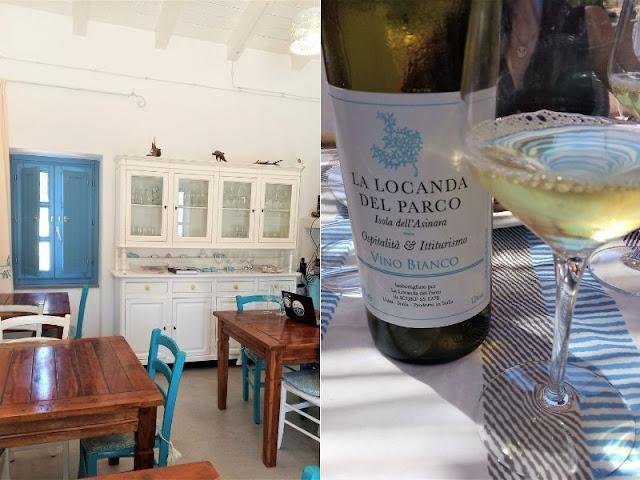ristorante locanda del parco Asinara