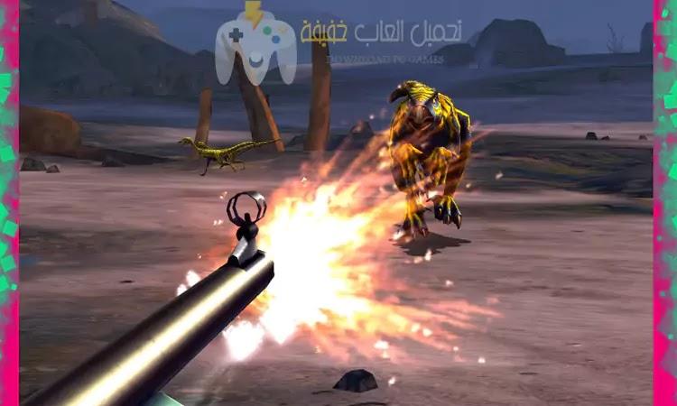 تحميل لعبة صيد الديناصورات Dino Hunter برابط مباشر