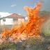 Departamento de Meio Ambiente faz alerta sobre o risco das queimadas