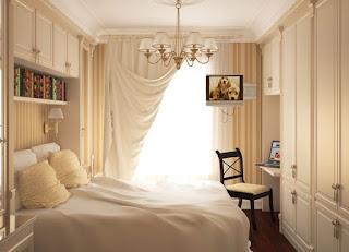 habitación pequeña decorada