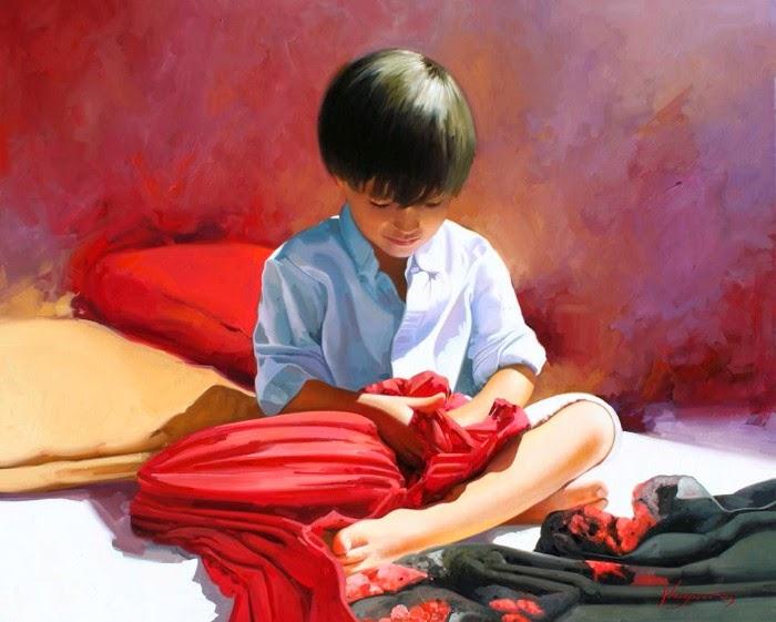 Испанский художник-реалист. Jose Higuera
