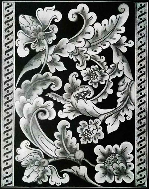 gambar-ragam-hias-flora