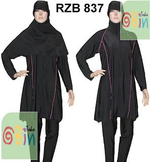 baju renang muslim syari RZB 837