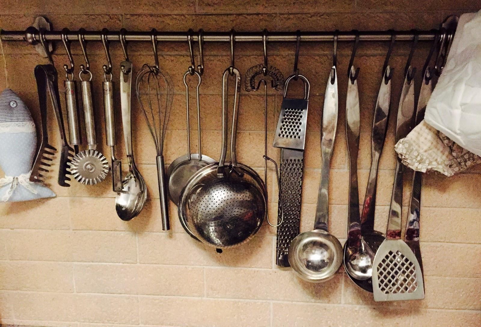 Utensili per cucinare l 39 amore per la cucina di sonia - Elenco utensili cucina ...
