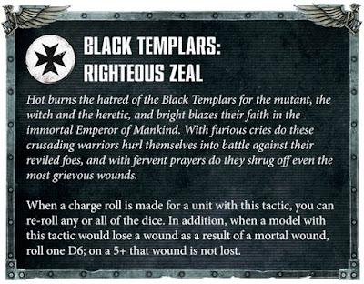 Táctica Capítulo Templarios Negros