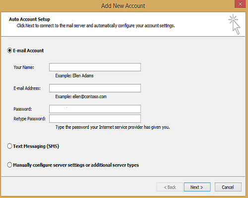 How to Fix MS Outlook error 0x8de00005