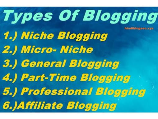 Blogging Kitni Parkar Ki Hoti Hai