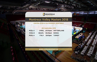 Montreaux Volley Masters Biss Key 5 September 2018