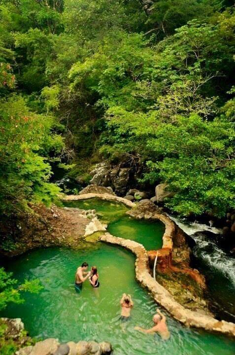 Taatpacon the hot Springs Resort, Costa Rica