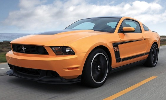 ford mustang boss  owners manual