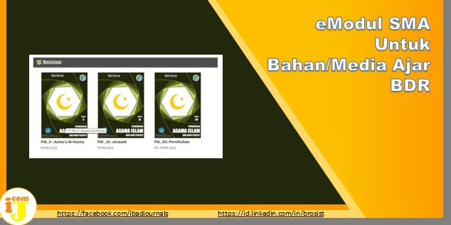 eModul SMA Untuk Bahan/Media Ajar BDR