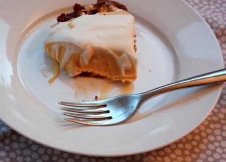 Icebox Pumpkin Mousse Pie