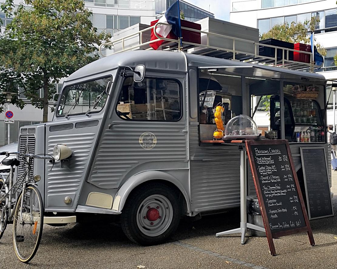 Scale Model News Incoming Citroen Type H Street Food Van