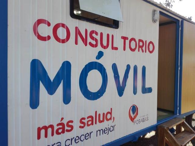 Posadas: Consultorio móvil municipal sigue recorriendo los barrios