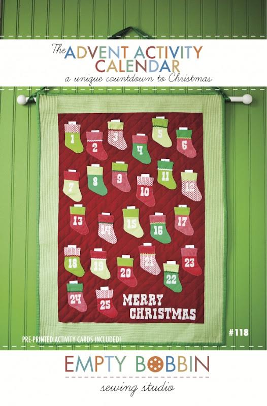 Teaginny Designs Advent Calendar Class - Calendar Class