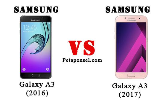 Perbandingan Samsung A3 (2017) dan A3 (2016)