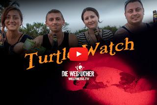 Schildkröten bei der Eiablage in Tangalle, Sri Lanka, Weltreise, Die Wegsucher