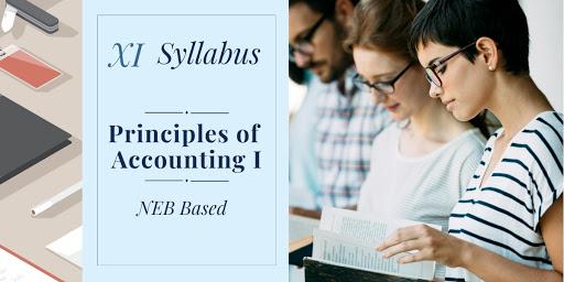 Principles of Accounting I Syllabus