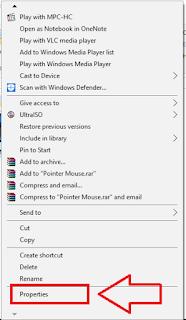 Cara Sembunyikan File di Windows 10