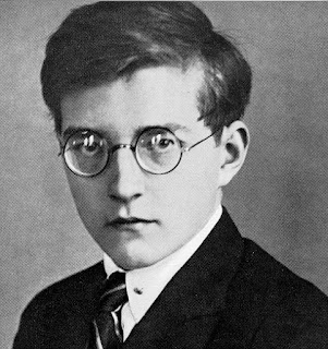 Fotografía de Dimistri Shostakívich (1925)