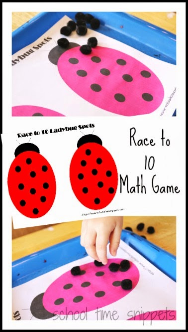 roll and cover math game