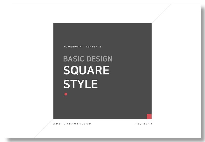 Basic Square Style