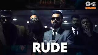 Checkout Kirat Sandhu new song Rude lyrics penned by Kirat Sandhu himself