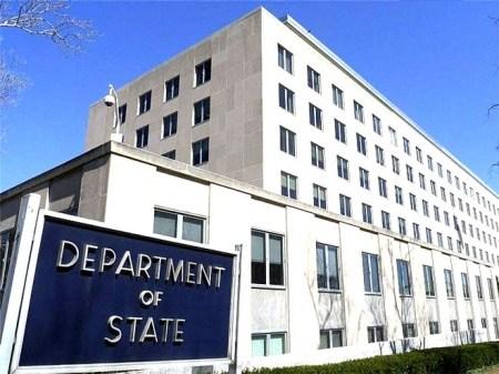 الخارجية الأمريكية واشنطن تعتزم المشاركة في مباحثات جنيف حول سوريا.