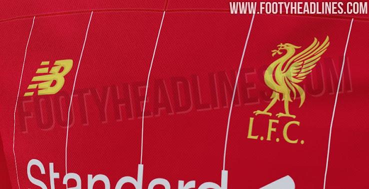 Liverpool 19 20 Home Kit Leaked Footy Headlines