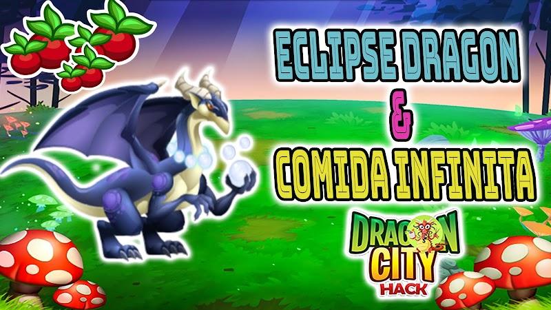 Dragon city - Dragon Eclipse + Comida Gratis