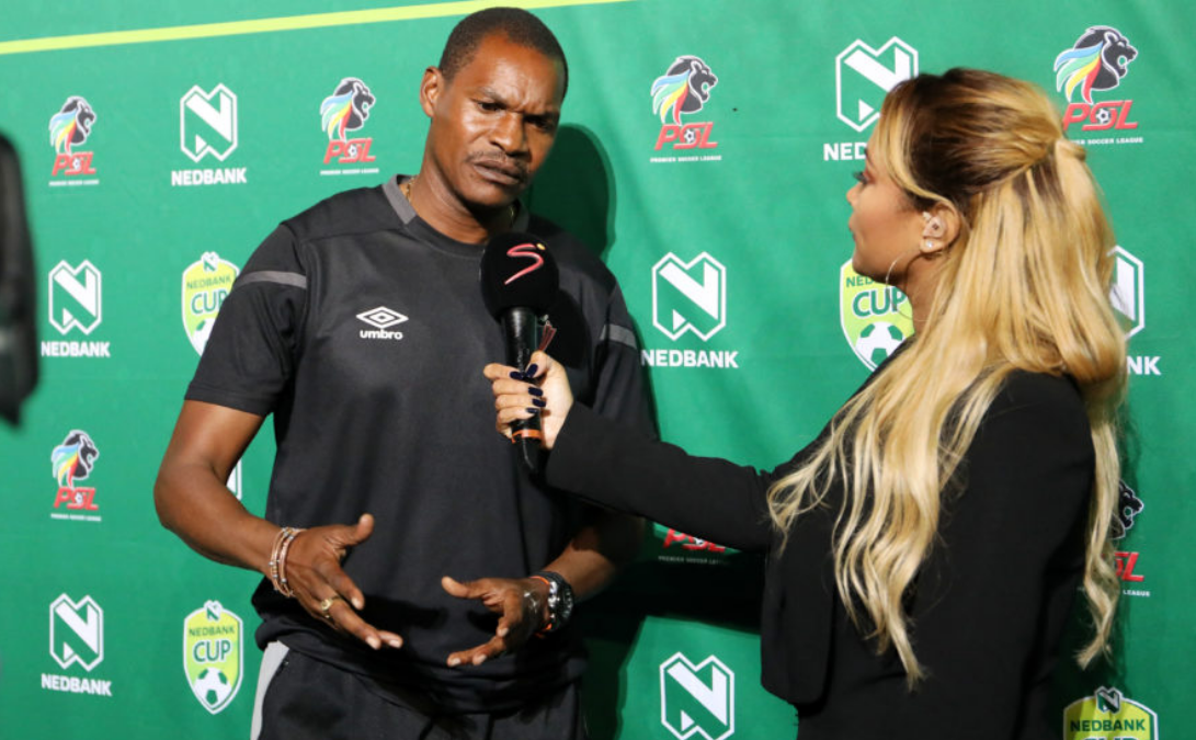 Former Chippa United coach Norman Mapeza