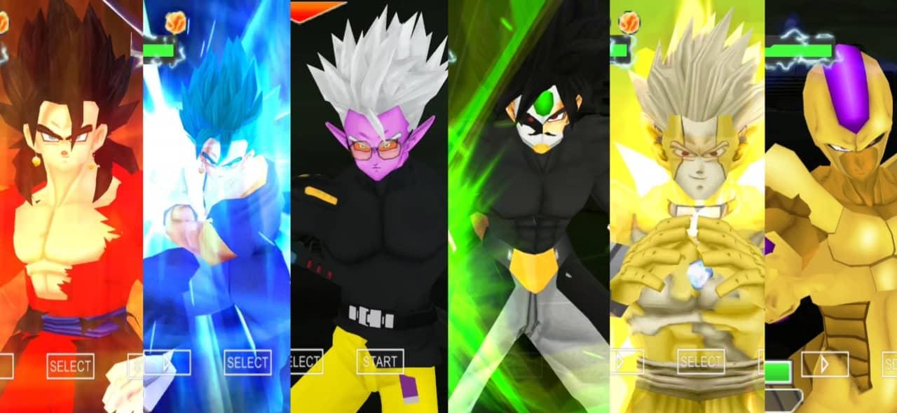 Super Dragon Ball Heroes DBZ TTT Mod PPSSPP