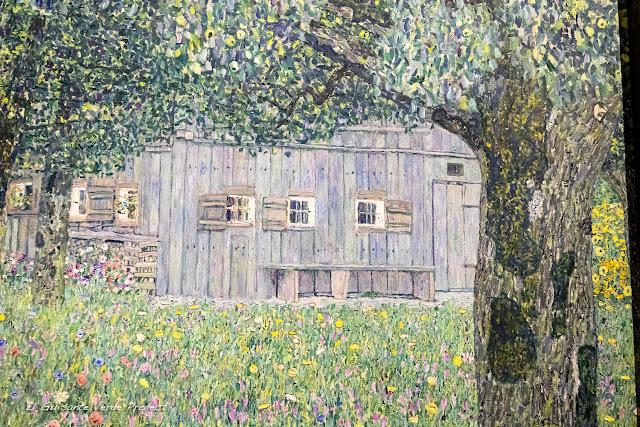 Gustav Klimt: Casa de Campo en Buchberg - Belvedere Museum, Viena por El Guisante Verde Project