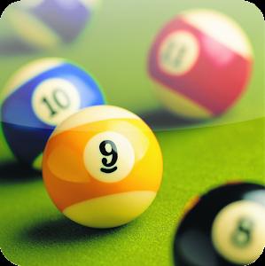 صورة توضح شعار لعبة البلياردو 2016 للكمبيوتر والموبايل.