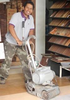 tekhnisi lantai kayu