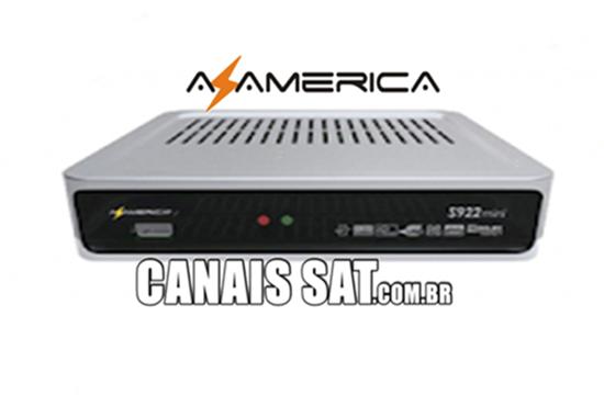 Azamerica S922 Mini Nova Atualização Modificada V1.065 - 23/07/2020