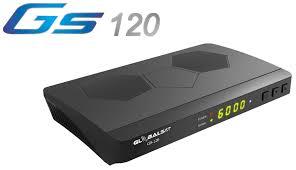 GLOBALSAT GS 120 HD NOVA ATUALIZAÇÃO V2.62 - 14/11/2020