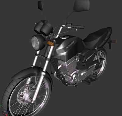 GTA SA - CG FAN 125