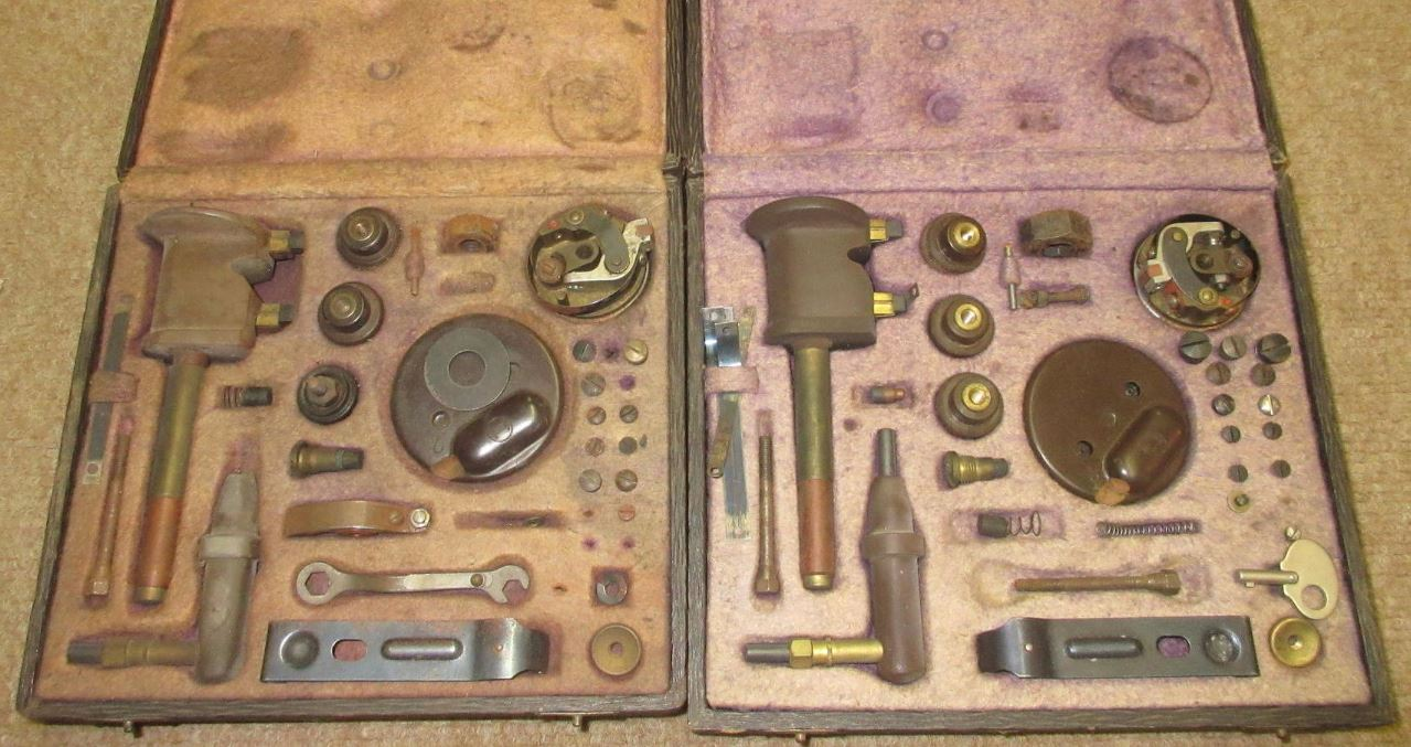 Just A Car Guy: Two cased Robert Bosch ZR6 magneto repair kits,