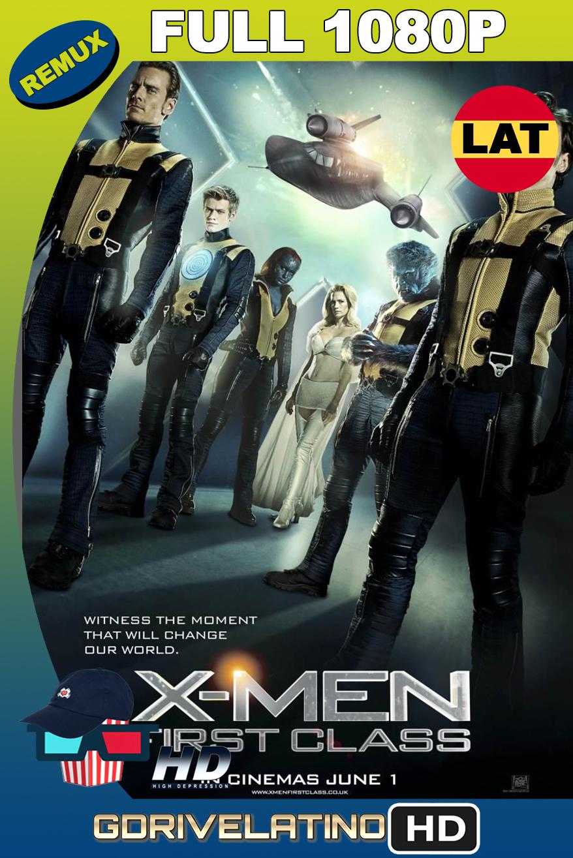 X-Men Primera Generación (2011) BDRemux 1080p Latino-Ingles MKV