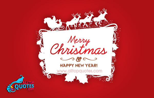 simple happy christmas and happy new year wishes greetings