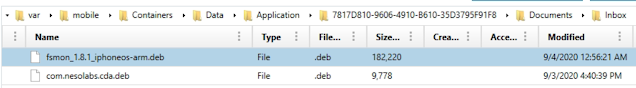 Folder within documents path