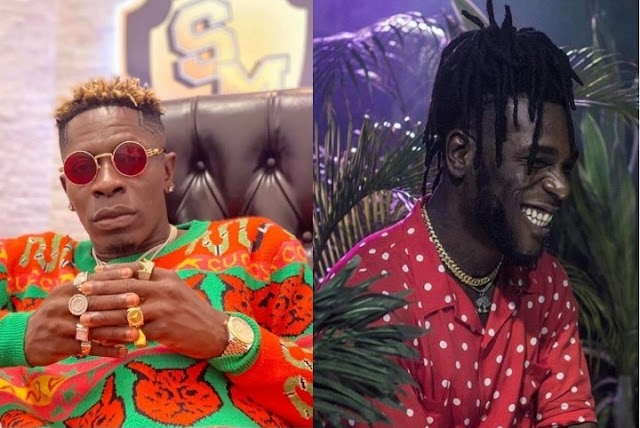 """You behaving like a b*tch"" – Shatta Wale calls out Burna Boy (Video)"