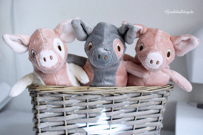 IKEA KELGRIS Schweinchen als Hundespielzeug