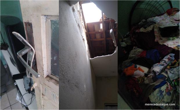 Elementos arrombam residências no Loteamento Neco Aragão, em Santa Cruz do Capibaribe