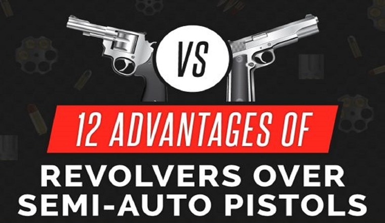 10 Reasons Why Revolvers Still Rule #infographic